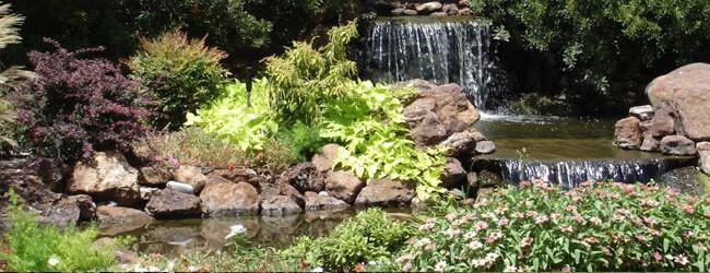 waterfalls water features