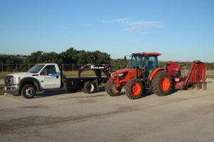 field mowing