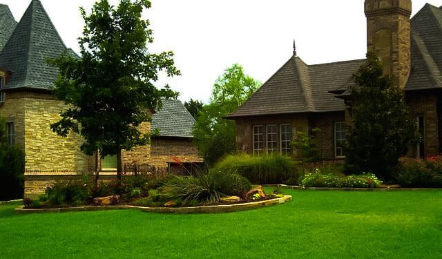 Beautiful and serene landscaping