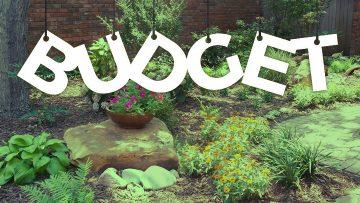 landscape design budget