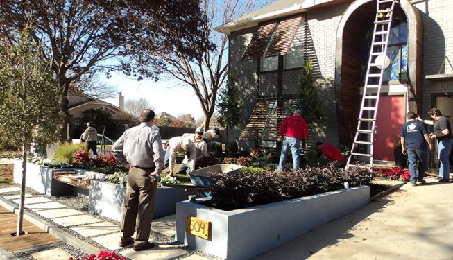 HGTV Home Project - Peterson's Landscape & Maintenance