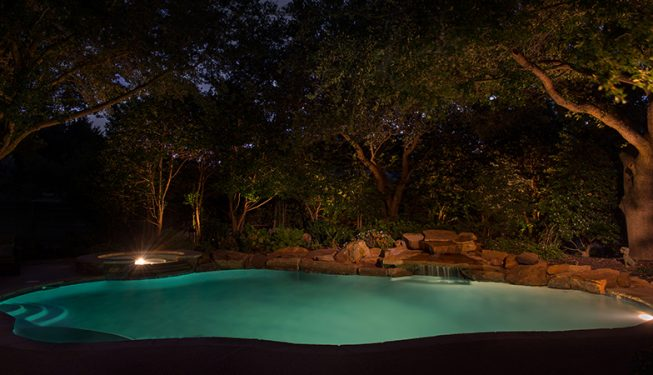 Pool and Patio Design - Johnson Home
