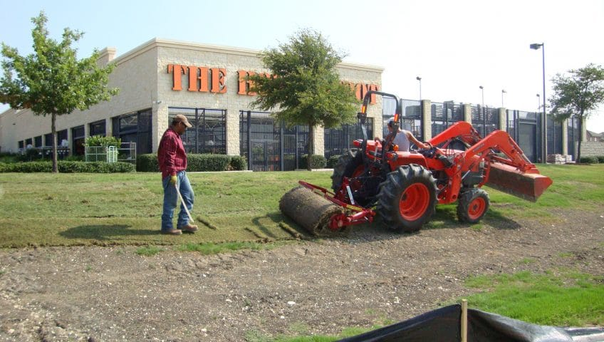 Commercial Landscaping Home Depot