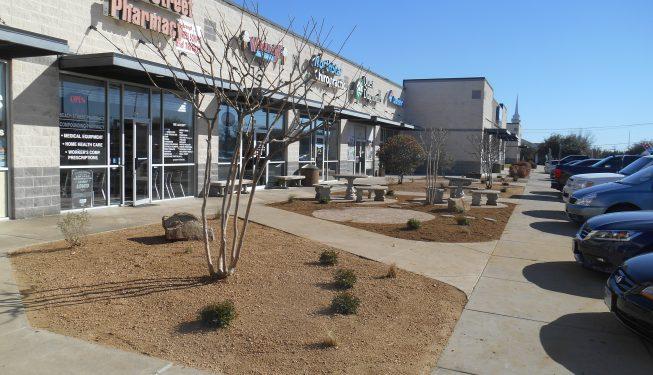 North Beach Plaza Before