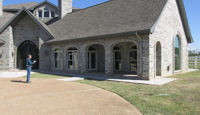 Driveway and Walkway - Ranch Style House
