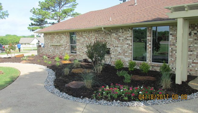 Ranch Front Yard Landscaping - TBN Home