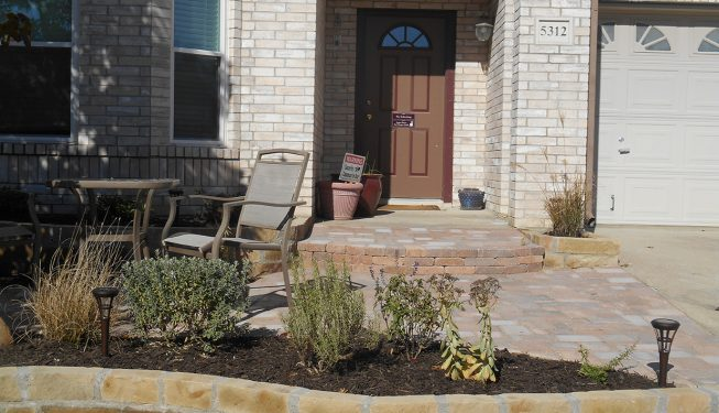 Front Yard Walkway - Shannon Home