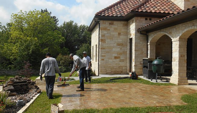 Patio and Walkway Design - Von Storch Home